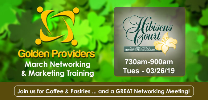 Golden Providers March Meeting