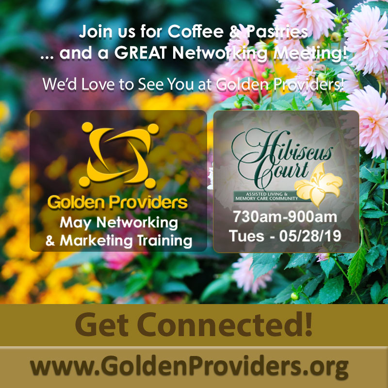 Golden Providers - May 2019