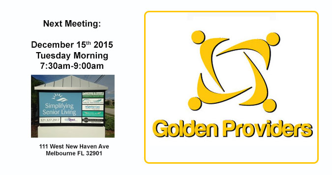 Golden Providers Next Meeting