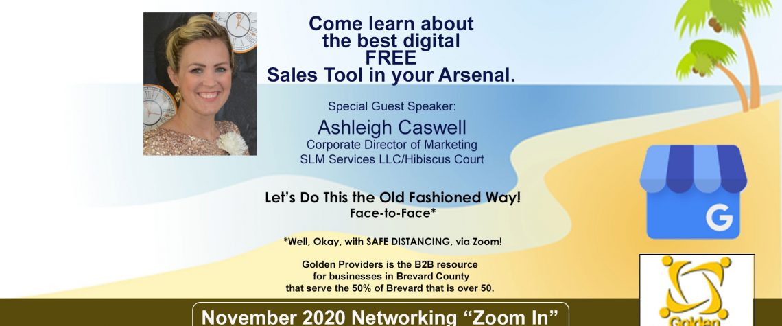 November 2020 Networking Zoom In