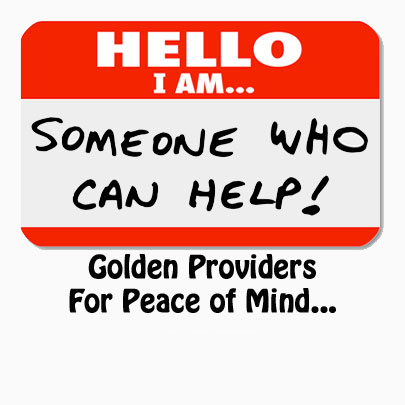 Golden Providers - Someone Who Can Help