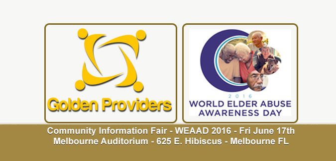 Golden Providers at WEAAD 2016