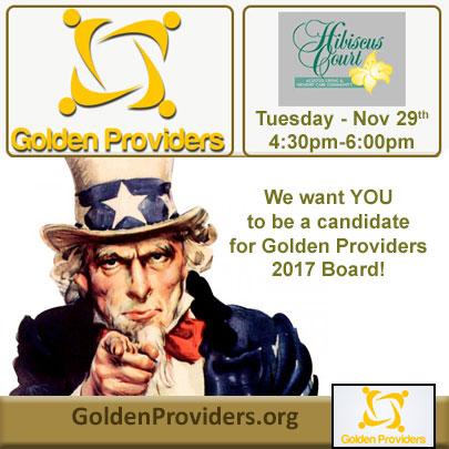 Golden Providers - November 2016