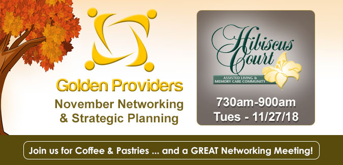 Golden Providers - November 2018
