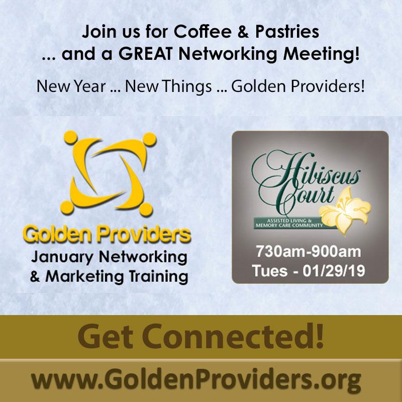Golden Providers - January 2019