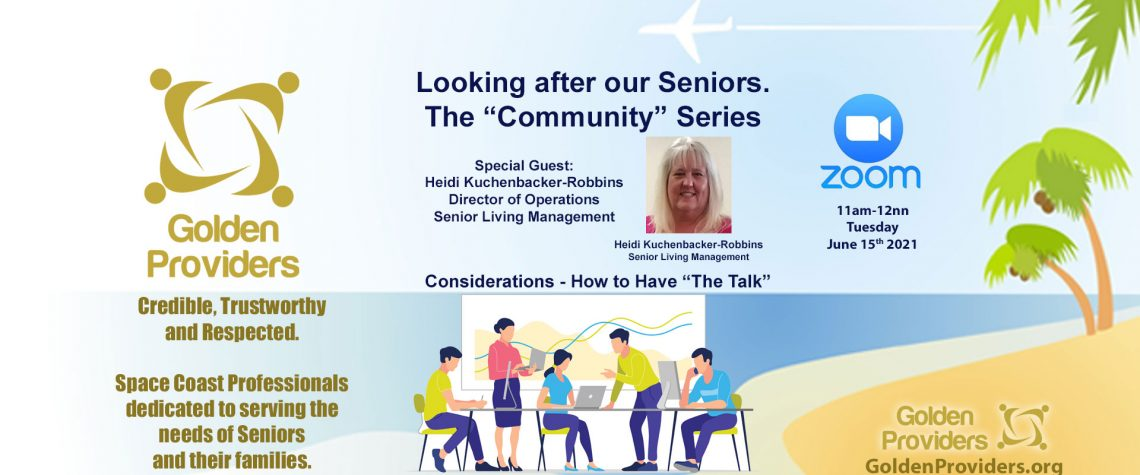 """June 15 2021 Zoom: Considerations - How to Have """"The Talk"""""""